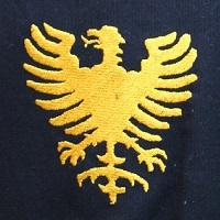 Adler golden auf schwarz 200x200
